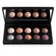 e.l.f. Cosmetics Baked Eyeshadow Palette Shimmer Eye Makeup, California, 10 Colors