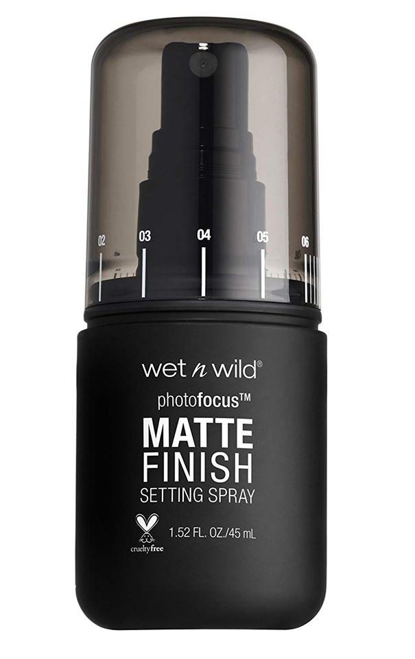 wet n wild Photo Focus Matte Finish Setting Spray, Matte Appeal, 30ml