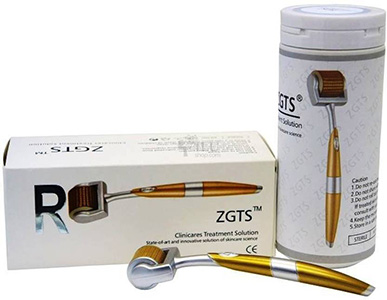 Derma Roller ZGTS Luxury Titanium Micro Needle,2ml gold