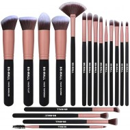 BS-MALL Makeup Brushes 18pcs Premium(Rose Gold)