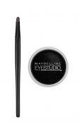 Maybelline New York Makeup Eyestudio Lasting Drama Gel Eye Liner, Blackest Black,