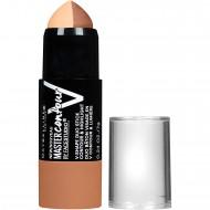 Maybelline New York Makeup Facestudio Master Contour V-Shape Duo Stick, Deep Shade Contour Stick, 0.24 oz